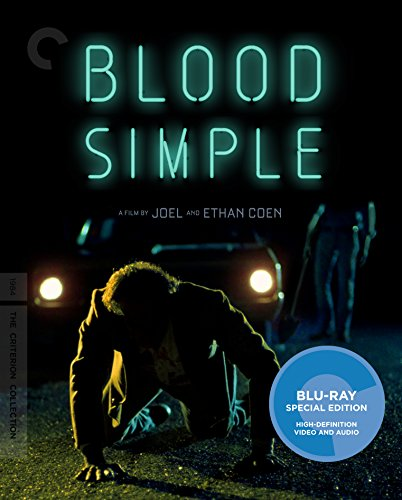 Blu-ray : Blood Simple (Criterion Collection) (4K Mastering, Restored, Special Edition, Widescreen, AC-3)