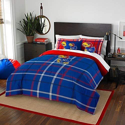 (Franco Kansas Jayhawks NCAA Twin Comforter Set (Comforter & Pillow sham))