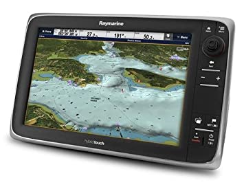 Raymarine e125 HybridTouch Multifunction Display, GPS Units - Amazon