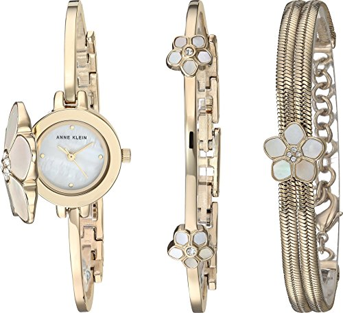 Anne Klein Women's Quartz Metal and Alloy Dress Watch, Color:Gold-Toned (Model: (Anne Klein Metal)