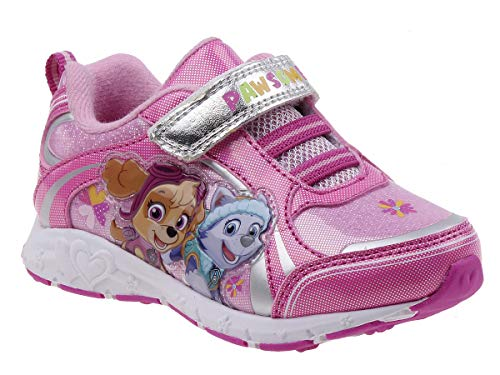 Josmo Kids Baby Girl's Paw Patrol Sneaker (Toddler/Little Kid) Fuchsia 12 M US Little Kid