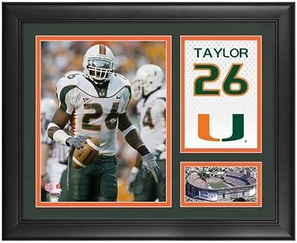 newest 84901 a97ce Sean Taylor Miami Hurricanes Framed 15