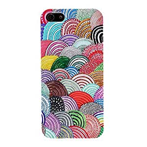 JOEColorful Lollipops Pattern PC Hard Case for iPhone 5/5S