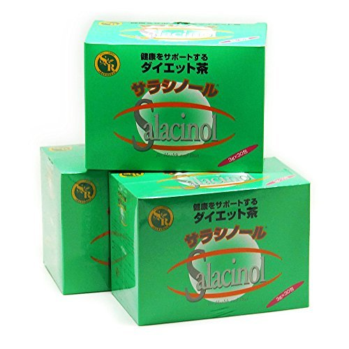 Salacinol tea 3gX30 follicles (Tea) 3 boxes by Salacia