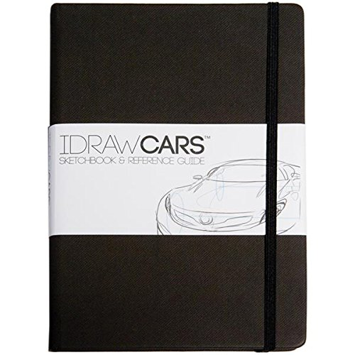 IDRAW Cars Sketchbook and Reference Guide, Black
