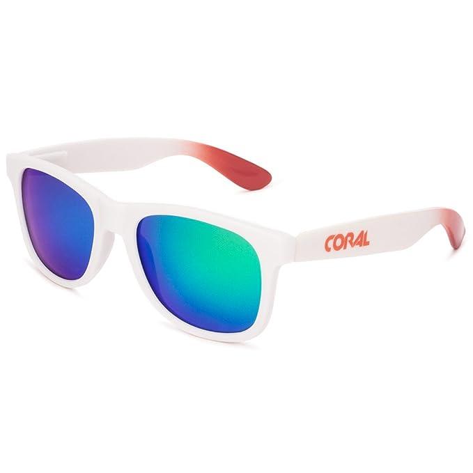 CORAL Sunglasses - TONGA - Gafas de sol blancas y lentes ...