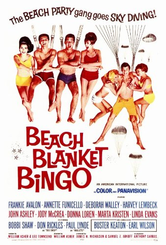 Beach Blanket Bingo 27 x 40 Movie Poster - Style A by postersdepeliculas
