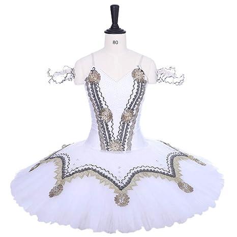 QSEFT Falda del Tutú del Ballet Profesional del Adulto Color ...