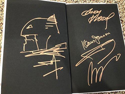 9 Book FRANK MILLER ORIGINAL Sketch Art Signed DK III The Master Race Batman 4x (Art Book Original Comic)