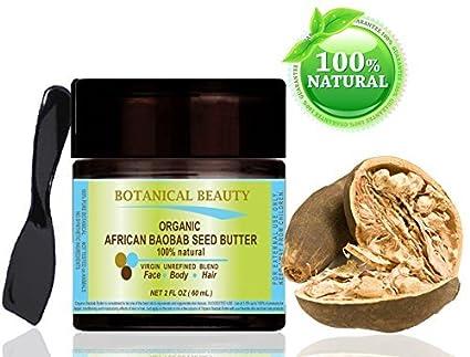 'Baobab de mantequilla bio africana. 100% Natural/Extracto 100% puro