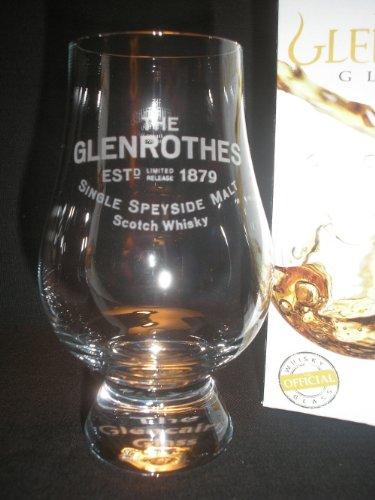 GLEN ROTHES GLENCAIRN SINGLE MALT SCOTCH WHISKY TASTING GLASS