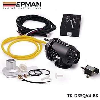EPMAN Electrical Diesel SSQV4 SQV4 Blow Off Valve/Diesel Dump Valve/Diesel BOV SQV Kit (Black)