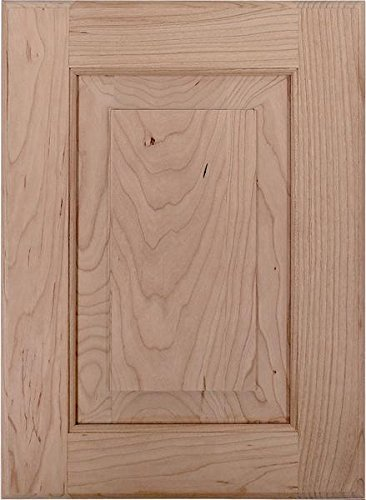 Cabinet Doors 'N' More 10'' X 22'' Unfinished Cherry Raised Square Panel Kitchen Cabinet Door by Cabinet Doors 'N' More