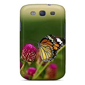 Best Cell-phone Hard Cover For Samsung Galaxy S3 With Unique Design HD Butterfly Skin RitaSokul