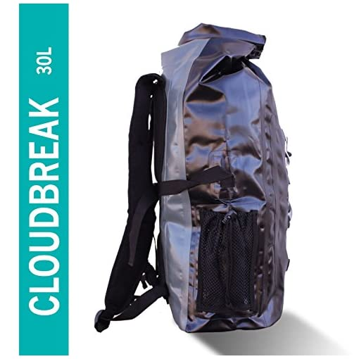 35ca2589d6f3 FE Active 30L Eco Friendly Waterproof Dry Bag Backpack Great for all  Outdoor and Water related activities. Padded Shoulder Straps, Corded  Exterior and ...