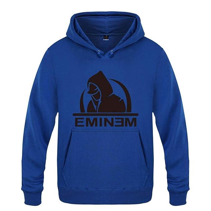 Mchooded Sudaderas con Capucha Unisex Slim Shady Clásico Eminem Rap  Sudadera Chándal para Hombres Y Niños Orquesta Camiseta Chaqueta Azul   Amazon.es  Ropa y ... 2e8e96b762e