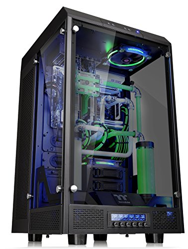 Thermaltake Tower 900 Black Edition Tempered Glass Fully Modular E-ATX Vertical Super Tower Computer Chassis CA-1H1-00F1WN-00 by Thermaltake (Image #5)