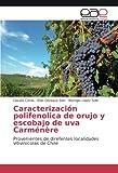 Caracterización polifenolica de orujo y escobajo de uva CarmÃnère: Provenientes de direfentes localidades vitivinícolas de Chile (Spanish Edition)