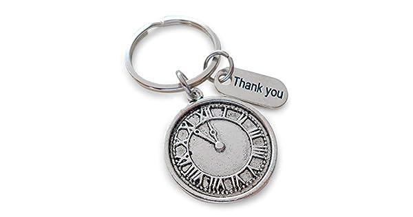 Amazon.com: Voluntarios apreciación regalo reloj keychain ...