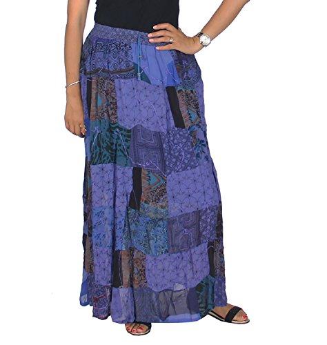 Patchwork Skirt - 3