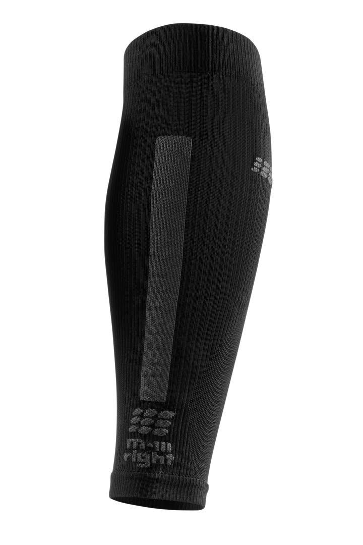 CEP Women's Compression Run Sleeves Calf Sleeves 3.0, Black/Dark Grey II by CEP (Image #3)
