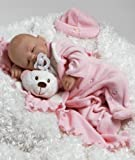 LifeLike Baby Doll, Baby Carly, 16-inch GentleTouch Vinyl with Weighted Body, Baby & Kids Zone