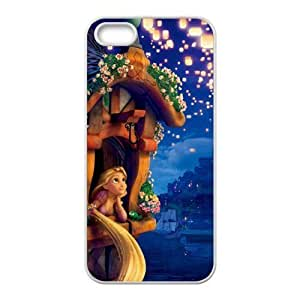 Customize Cartoon Tangled Princess Back Case Fits for For iphone 4/4s JN-2359