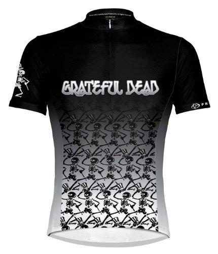 Primal Wear Men's Grateful Dead Dancing Skeletons Cycling Jersey, Multi, 3X-Large