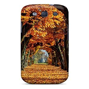 Hard Plastic Galaxy S3 Case Back Cover,hot Autumn Case At Perfect Diy