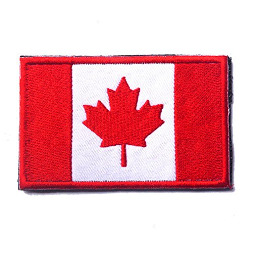 Canada Flag Patch Embroidered Military Tactical Flag Patches