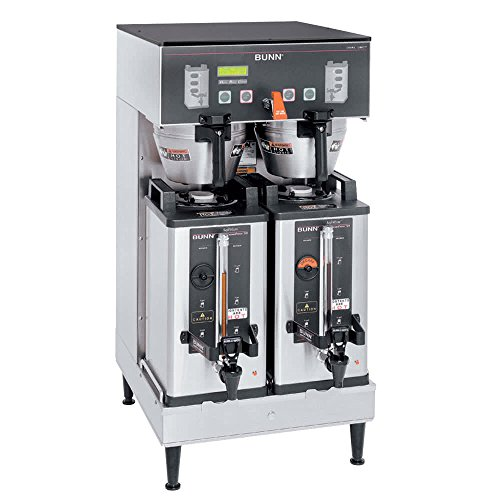 Bunn 33500.0042 DUAL SH DBC BrewWise Single Soft Heat Coffee Brewer, Holds (1) 1-/2 Gallon Server (Not Included)