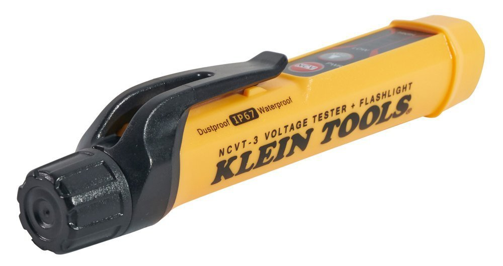 Non-Contact Voltage Tester with Flashlight Klein Tools NCVT-3 by Klein Tools (Image #5)