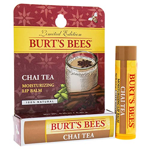 Burt's Bees Chai Tea Lip Balm Blister By Burts Bees for Unisex - 0.15 Oz Lip Balm, 0.15 Ounce