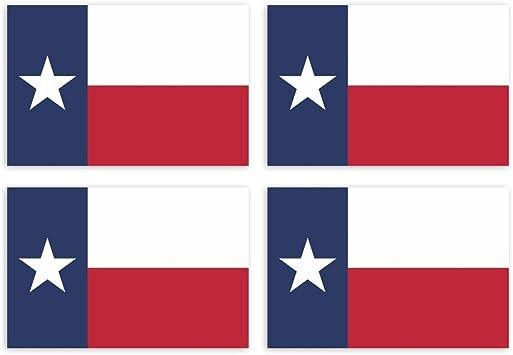 Kiwistar Aufkleber 4 5 X 3 Cm Texas Austin Bundesstaat Autoaufkleber Usa Flagge Länder Wappen Fahne Sticker Kennzeichen Auto