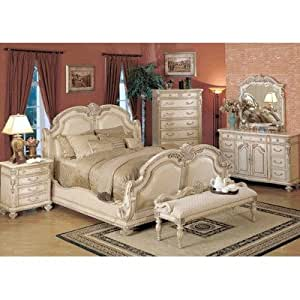 whitewash bedroom furniture porter sleigh bedroom set in whitewash size 13863