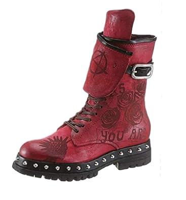 new concept 3c481 3f41b A.S.98 - Airstep Stiefel Stiefelette Schuhe Größe 35: Amazon ...