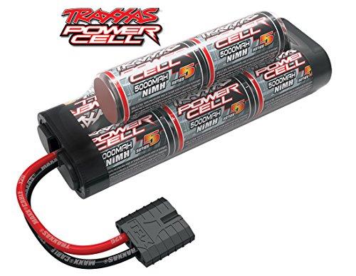 (Traxxas 2963X NiMH, 8-Cell, 9.6V Series 5 5000mAh Battery (hump pack))