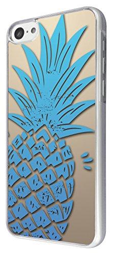 289 - Pineapple Summer time Design iphone 5C Coque Fashion Trend Case Coque Protection Cover plastique et métal