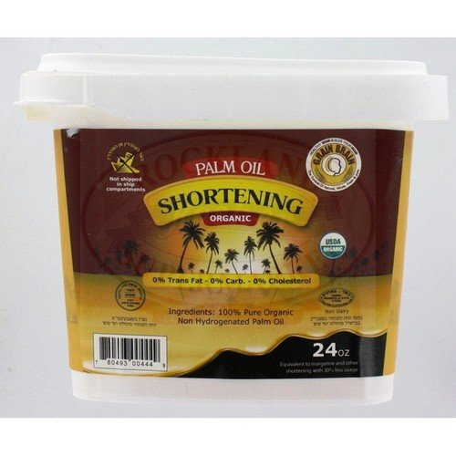 Grain Brain Organic Palm oil shortening 24 oz