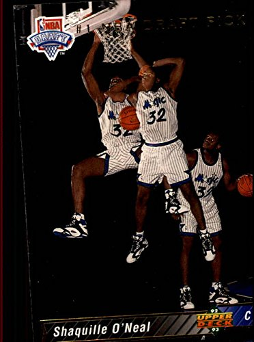 1992-93 Upper Deck #1 Shaquille O'Neal SP RC NBA First Draft Pick - NM