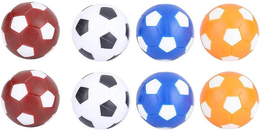 Balones de futbolín de futbolín de futbolín y futbolín para fútbol de Mesa 8PCS: Amazon.es: Deportes y aire libre