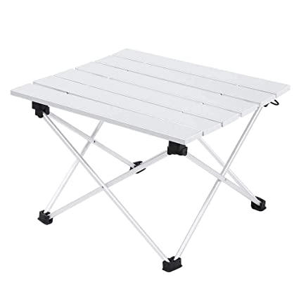 Amazon.com: USA_BEST_SELLER - Mesa plegable de aluminio ...