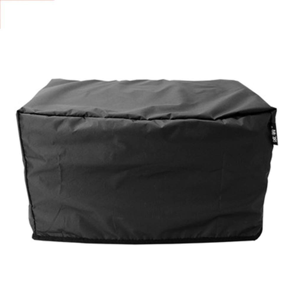 Nwn Furniture Cover Dust Cover Protective Cover for Home Garden Outdoor Oxford Material Can Be Customized Size Black Silver Optional (Color : Black, Size : 150 x 130 x 90 cm) by Nwn