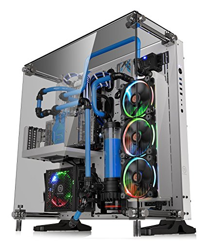 Thermaltake Core P5 Tempered Glass Snow Edition ATX Open Frame Panoramic Viewing Tt LCS Certified Gaming Computer Case CA-1E7-00M6WN-01 by Thermaltake