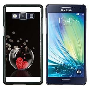 For Samsung Galaxy A5 A5000 Case , El amor del Corazón Acuario- Diseño Patrón Teléfono Caso Cubierta Case Bumper Duro Protección Case Cover Funda