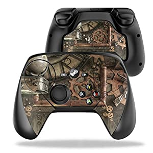 MightySkins Protective Vinyl Skin Decal for Valve Steam Controller case wrap Cover Sticker Skins Steam Punk Room