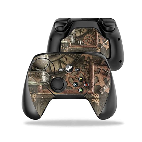 MightySkins Protective Vinyl Skin Decal for Valve Steam Controller case wrap Cover Sticker Skins Steam Punk Room 3