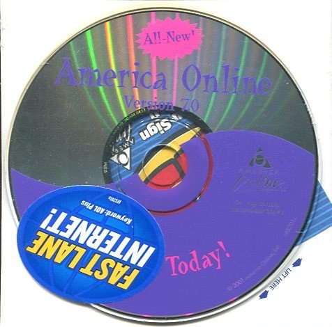 Aol 7 0 Cd  Try It Today  1000 Free Hours  Unopened In Shrink Wrap