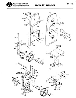 delta rockwell no 28 100 10 band saw bs 1a instructions reprint Delta 10 Band Saw 28 100 10 band saw bs 1a instructions reprint plastic b 1900