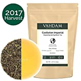 2017 First Flush Darjeeling Tea From the Iconic Castleton Tea Estate - Flowery, 1.76oz, Aromatic & Fresh,25 cups,Spring Tea,100% Pure Unblended Black Tea Loose Leaf,Limited Edition